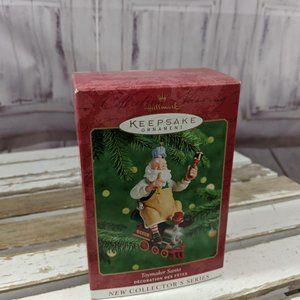 Hallmark Keepsake Toymaker Santa 2000 Riding The T